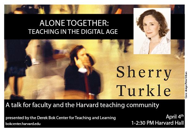 Sherry Turkle Flyer